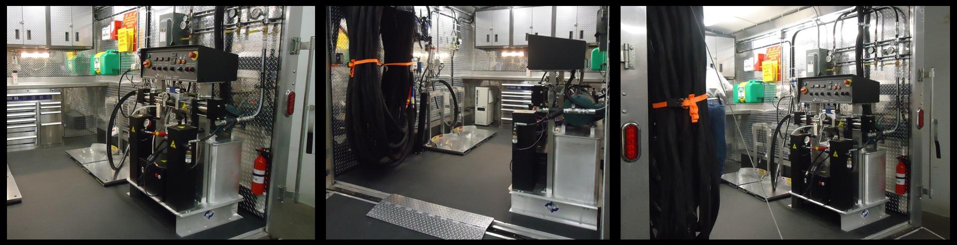 Kamo Leasing Turn Key Insulation Rigs and Equipment